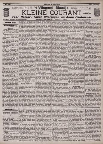Vliegend blaadje : nieuws- en advertentiebode voor Den Helder 1912-03-16
