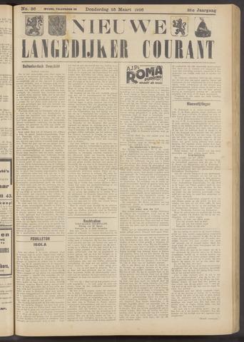 Nieuwe Langedijker Courant 1926-03-25