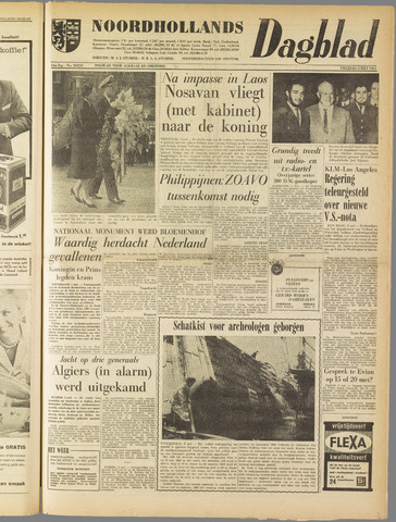 Noordhollands Dagblad : dagblad voor Alkmaar en omgeving 1961-05-05