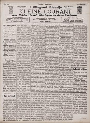 Vliegend blaadje : nieuws- en advertentiebode voor Den Helder 1904-03-09