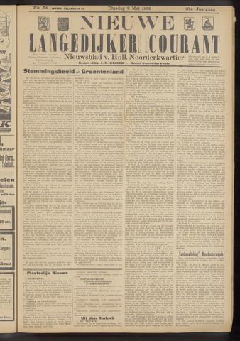 Nieuwe Langedijker Courant 1928-05-08