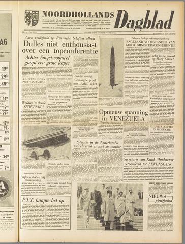 Noordhollands Dagblad : dagblad voor Alkmaar en omgeving 1958-01-11