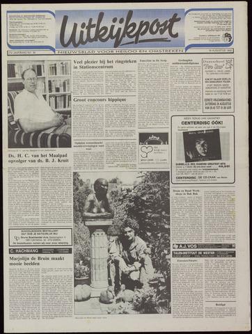 Uitkijkpost : nieuwsblad voor Heiloo e.o. 1992-08-19