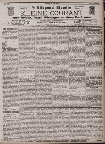 Vliegend blaadje : nieuws- en advertentiebode voor Den Helder 1902-06-14