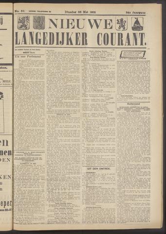 Nieuwe Langedijker Courant 1925-05-26