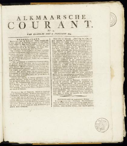 Alkmaarsche Courant 1814-02-28