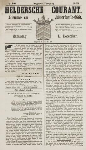 Heldersche Courant 1869-12-11