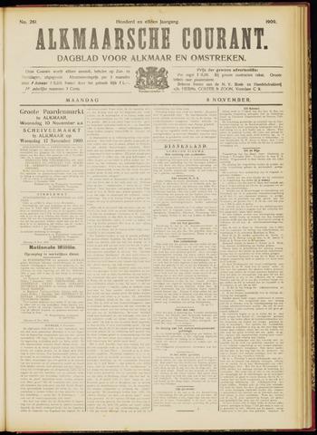 Alkmaarsche Courant 1909-11-08