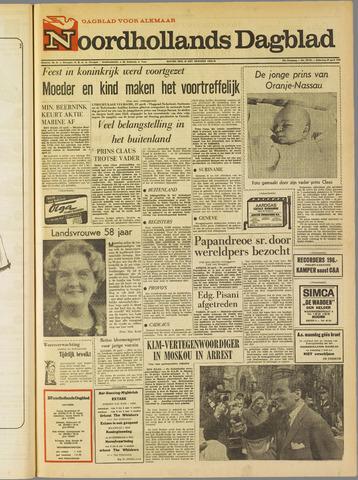Noordhollands Dagblad : dagblad voor Alkmaar en omgeving 1967-04-29