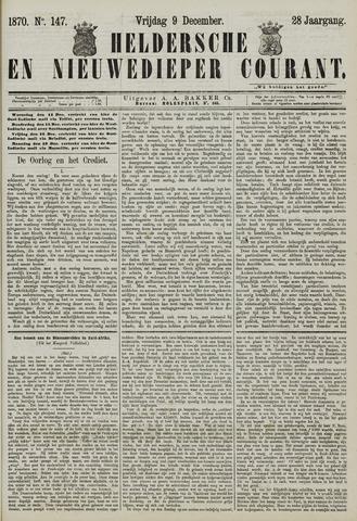 Heldersche en Nieuwedieper Courant 1870-12-09