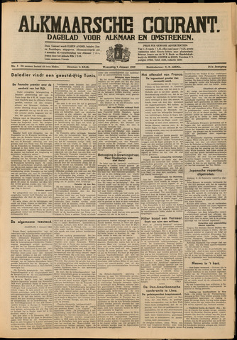 Alkmaarsche Courant 1939-01-04