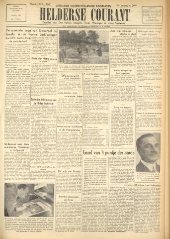 Heldersche Courant 1947-10-20
