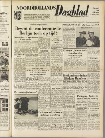 Noordhollands Dagblad : dagblad voor Alkmaar en omgeving 1954-01-15
