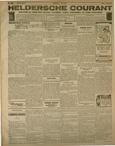 Heldersche Courant 1931-07-07