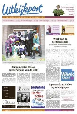 Uitkijkpost : nieuwsblad voor Heiloo e.o. 2010-11-17