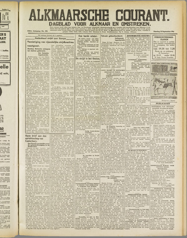 Alkmaarsche Courant 1941-09-23