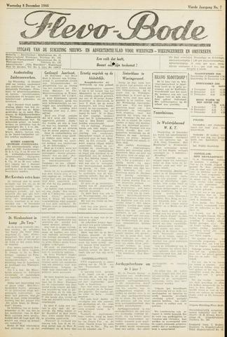 Flevo-bode: nieuwsblad voor Wieringen-Wieringermeer 1948-12-08