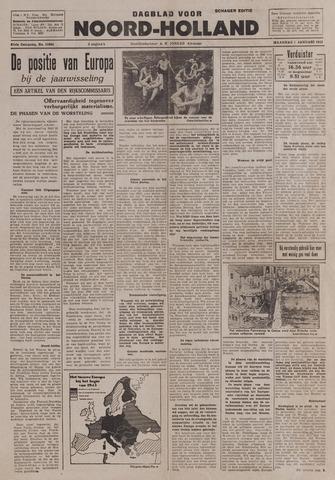 Dagblad Noord-Holland, Schager editie 1943-01-04