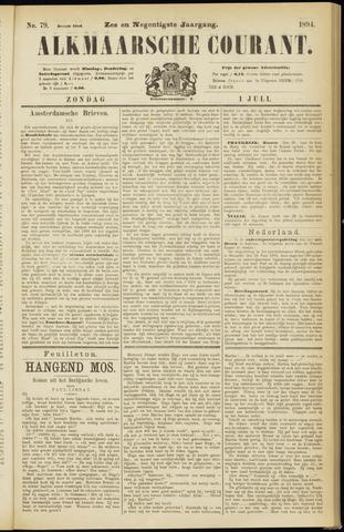 Alkmaarsche Courant 1894-07-01