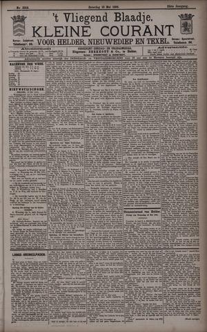 Vliegend blaadje : nieuws- en advertentiebode voor Den Helder 1894-05-19