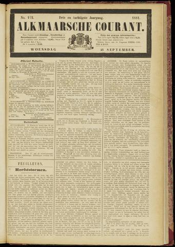 Alkmaarsche Courant 1881-09-21