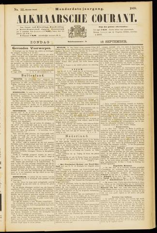 Alkmaarsche Courant 1898-09-18