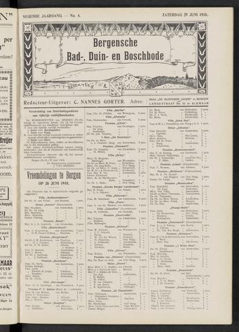 Bergensche bad-, duin- en boschbode 1918-06-29