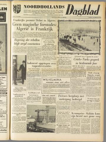 Noordhollands Dagblad : dagblad voor Alkmaar en omgeving 1959-02-10