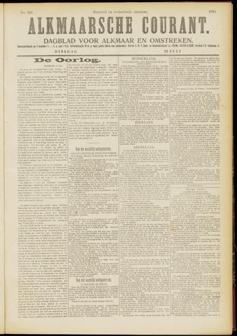 Alkmaarsche Courant 1915-07-13