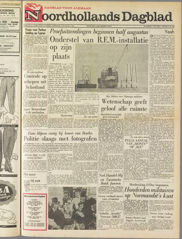 Noordhollands Dagblad : dagblad voor Alkmaar en omgeving 1964-06-06