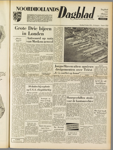 Noordhollands Dagblad : dagblad voor Alkmaar en omgeving 1953-10-17