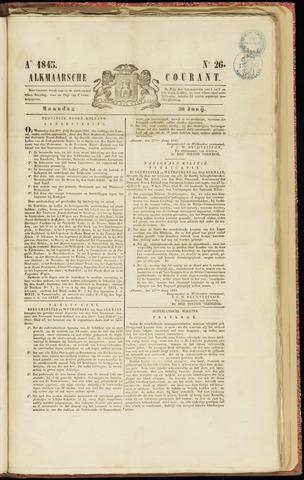 Alkmaarsche Courant 1845-06-30