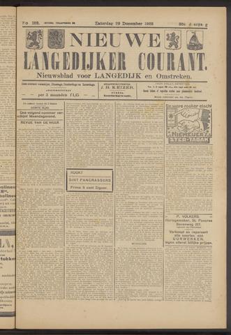 Nieuwe Langedijker Courant 1923-12-29