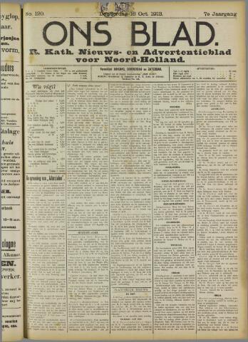Ons Blad : katholiek nieuwsblad voor N-H 1913-10-16