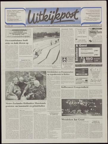 Uitkijkpost : nieuwsblad voor Heiloo e.o. 1997-04-16