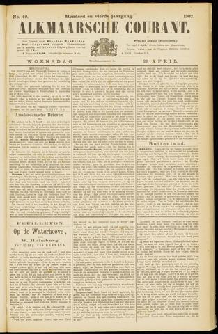 Alkmaarsche Courant 1902-04-23
