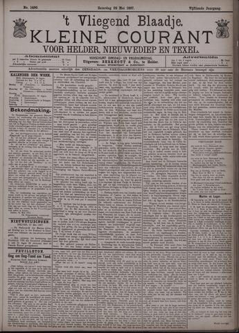 Vliegend blaadje : nieuws- en advertentiebode voor Den Helder 1887-05-28