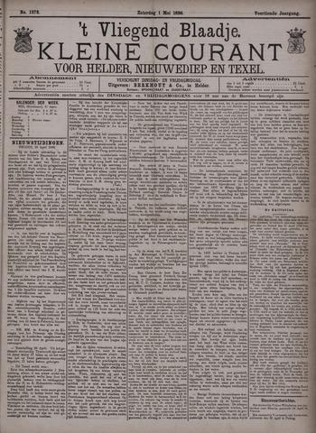 Vliegend blaadje : nieuws- en advertentiebode voor Den Helder 1886-05-01
