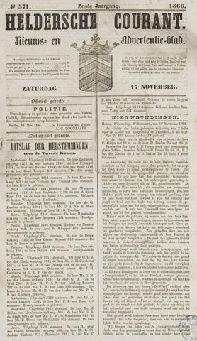 Heldersche Courant 1866-11-17