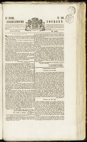 Alkmaarsche Courant 1841-07-19