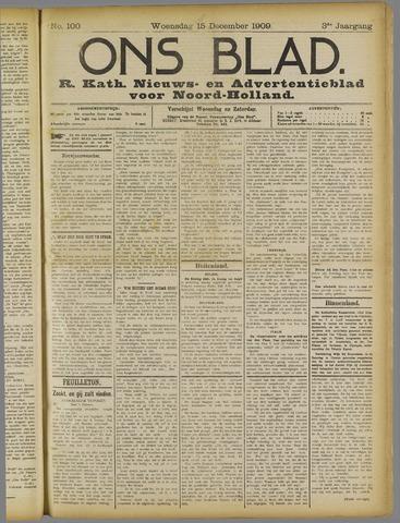 Ons Blad : katholiek nieuwsblad voor N-H 1909-12-15