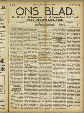 Ons Blad : katholiek nieuwsblad voor N-H 1909-02-06