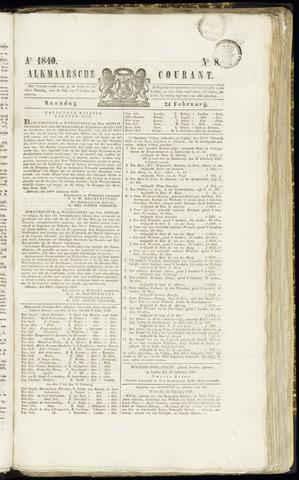 Alkmaarsche Courant 1840-02-24