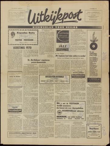 Uitkijkpost : nieuwsblad voor Heiloo e.o. 1970-12-23