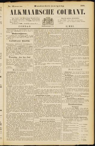 Alkmaarsche Courant 1898-05-15
