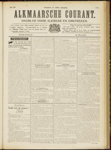 Alkmaarsche Courant 1909-03-24