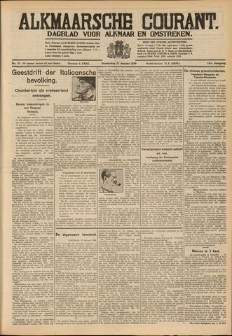 Alkmaarsche Courant 1939-01-12