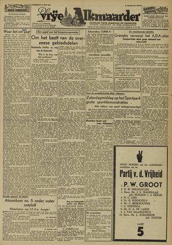 De Vrije Alkmaarder 1946-07-25