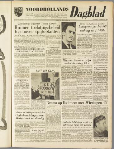 Noordhollands Dagblad : dagblad voor Alkmaar en omgeving 1959-11-19