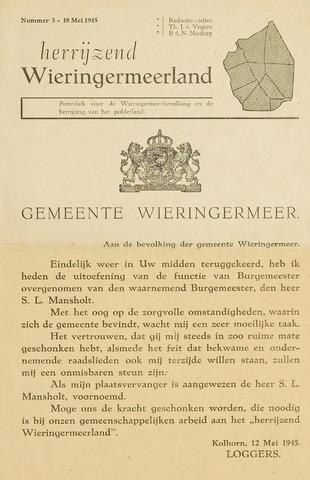 Herrijzend Wieringermeerland 1945-05-18
